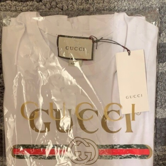 Gucci Other - Gucci White Classic Logo T-Shirt